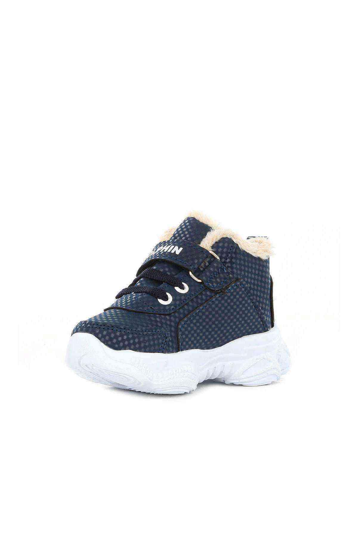 Lacivert Erkek Bebek Ayakkabı