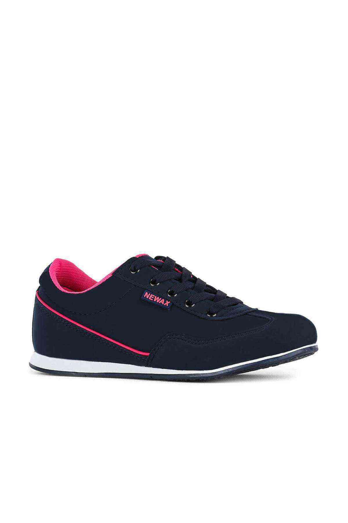 Lacivert Fuşya Kadın Spor Ayakkabı - Newax 048