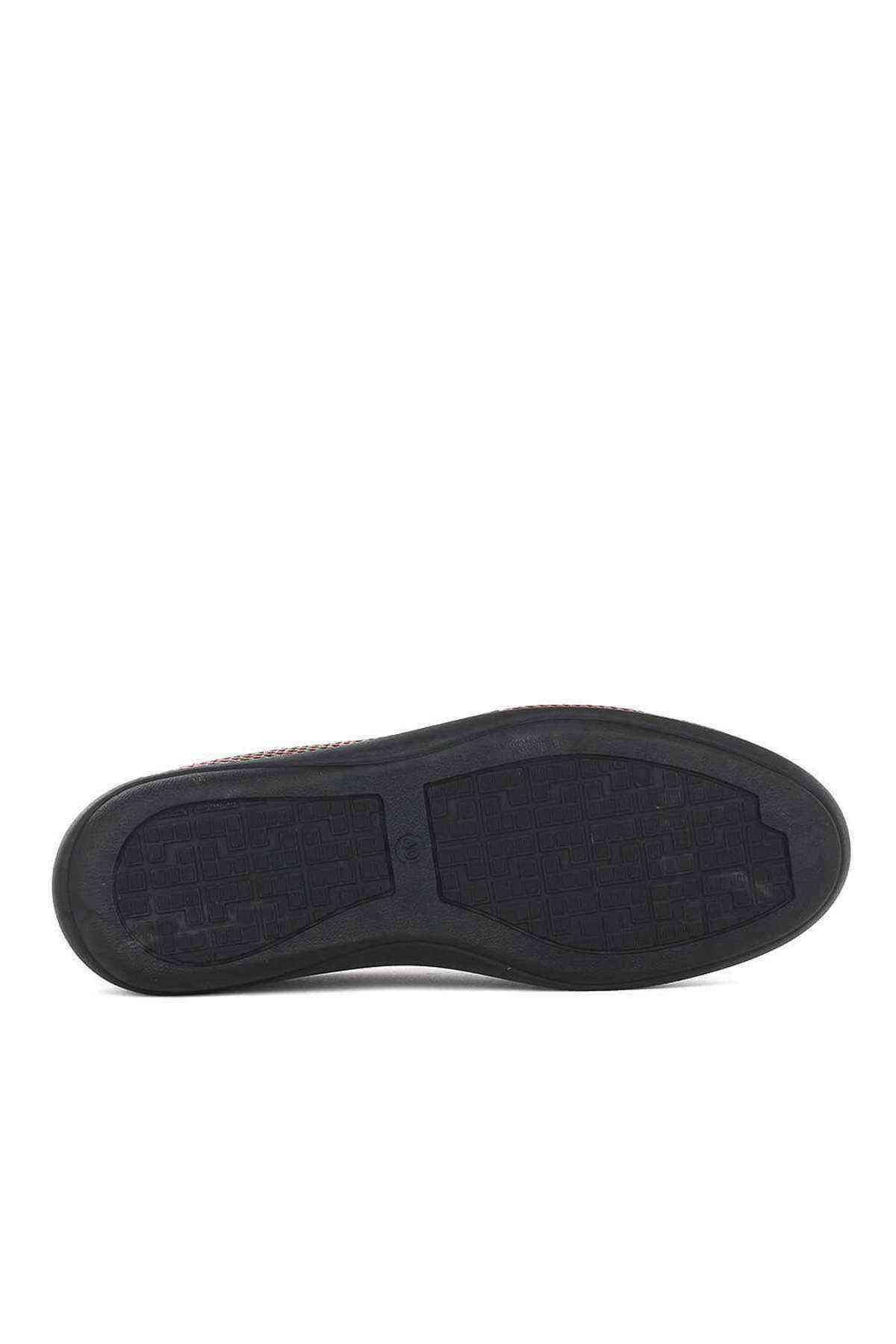 Erkek Siyah Hakiki Deri Casual Ayakkabı - Mesolite M-22