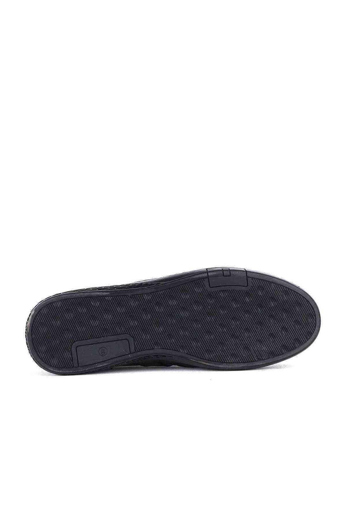 Siyah Erkak Casual Ayakkabı - F-801